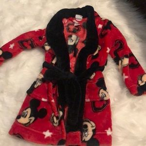 Mickey toddler bath robe
